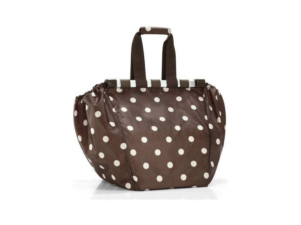 Reisenthel - nákupní taška Easyshoppingbag mocha dots