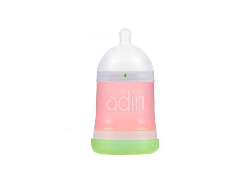 Adiri kojenecká lahev Nuser 0-3m 163 ml růžová