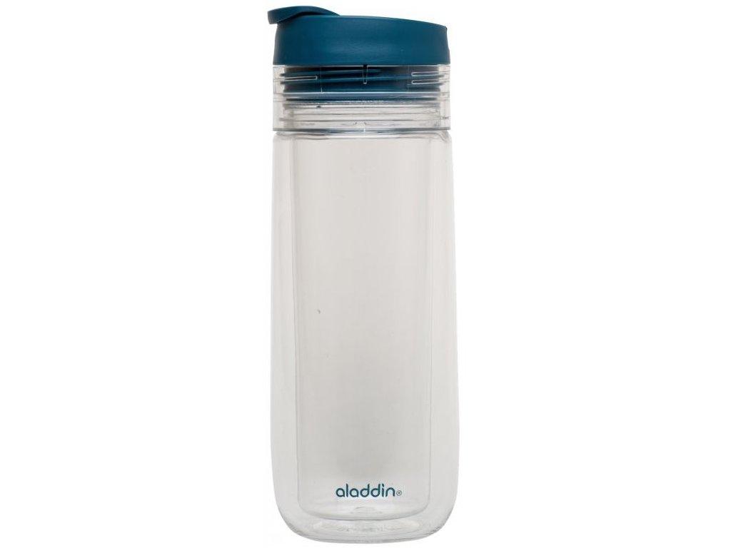 Aladdin - termohrnek na čaj 350 ml petrolejový