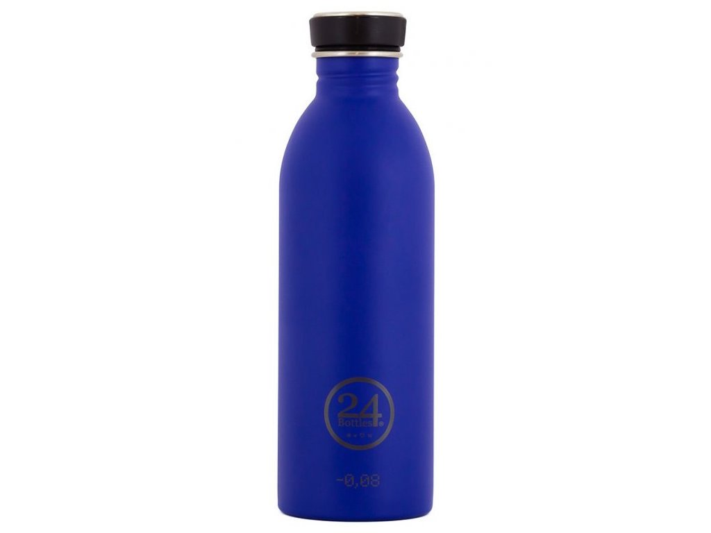 24Bottles - lahev Urban Bottle černý uzávěr 500 ml Blue