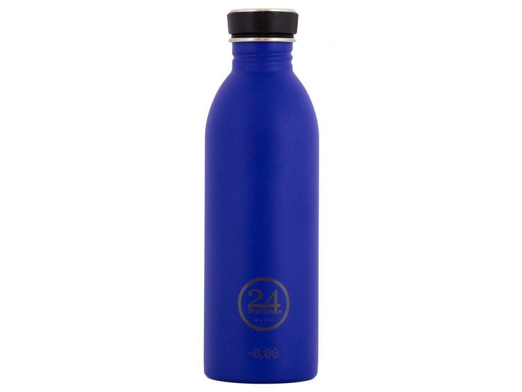 24Bottles - lahev Urban Bottle černý uzávěr 500 ml Blue