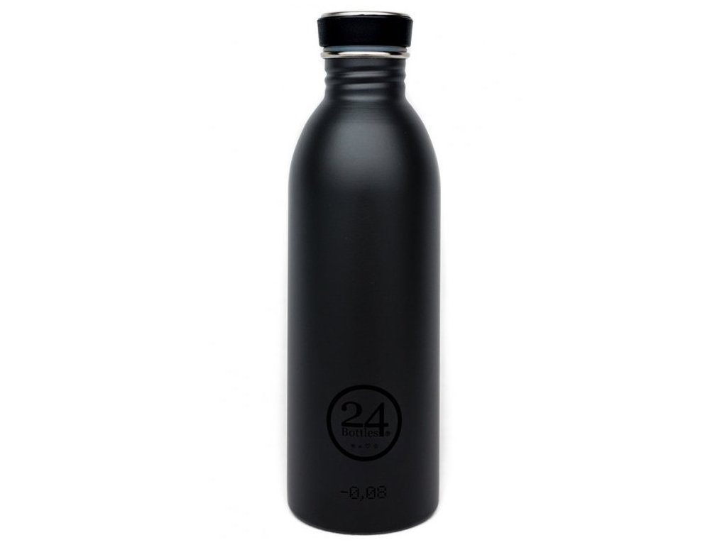 24Bottles - nerezová lahev Urban Bottle 500 ml Black