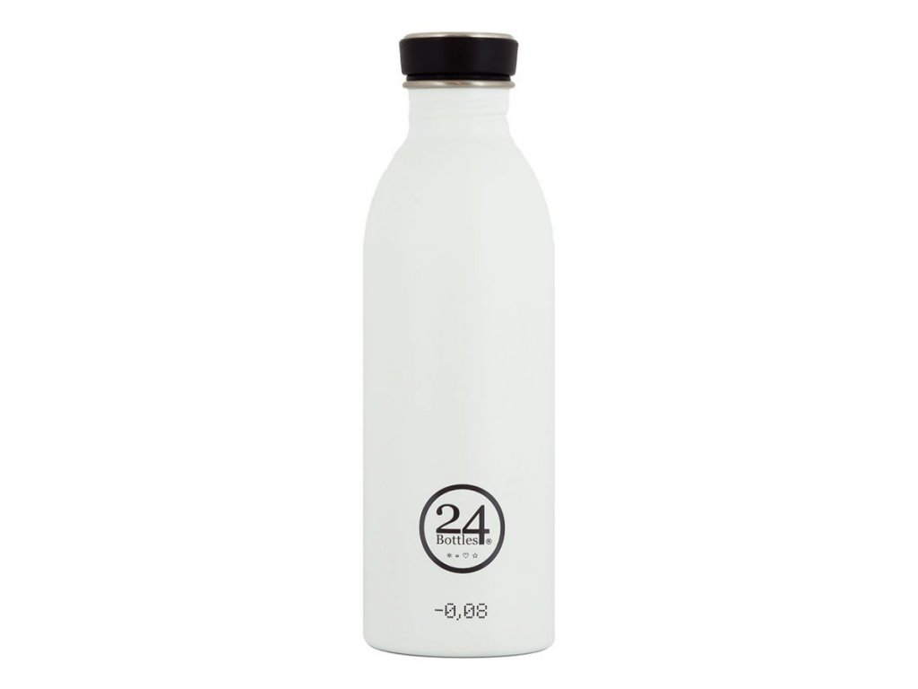 24Bottles - nerezová lahev Urban Bottle 500 ml White