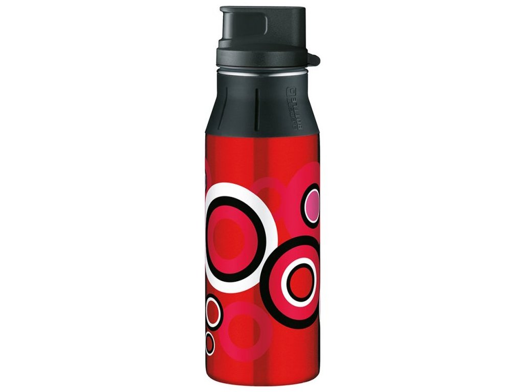 Alfi - lahev na pití II Loops Red 600 ml