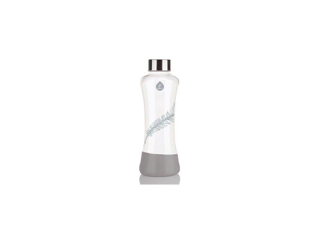 EQUA skleněná láhev na pití Esprit Feather 0.55 l