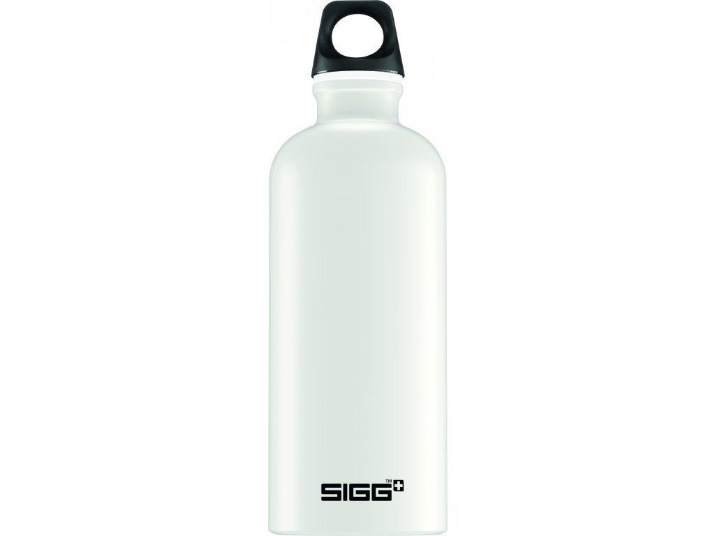 Lahev SIGG Traveller White Touch 600 ml bílá matná
