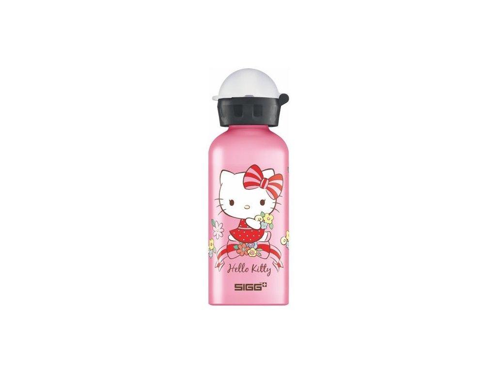 SIGG dětská lahev Hello Kitty Flower Cuteness 400 ml