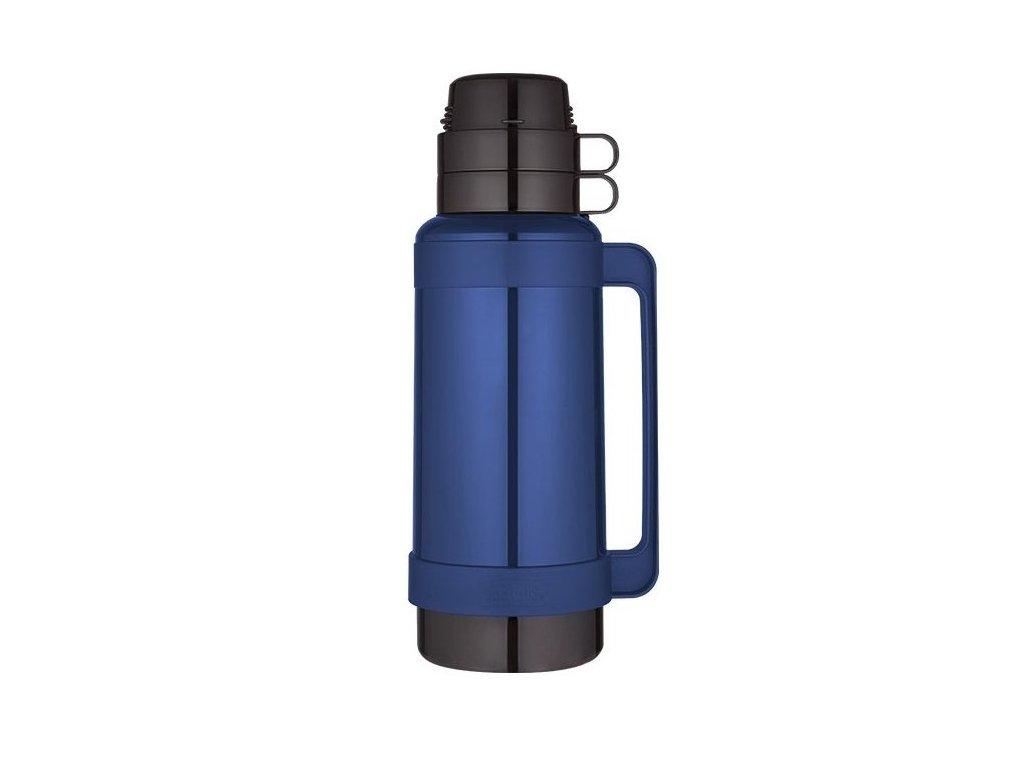 Thermos - skleněná termoska modrá 1,8l