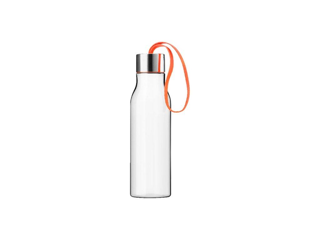 Eva Solo - láhev na pití s oranžovým poutkem 500 ml