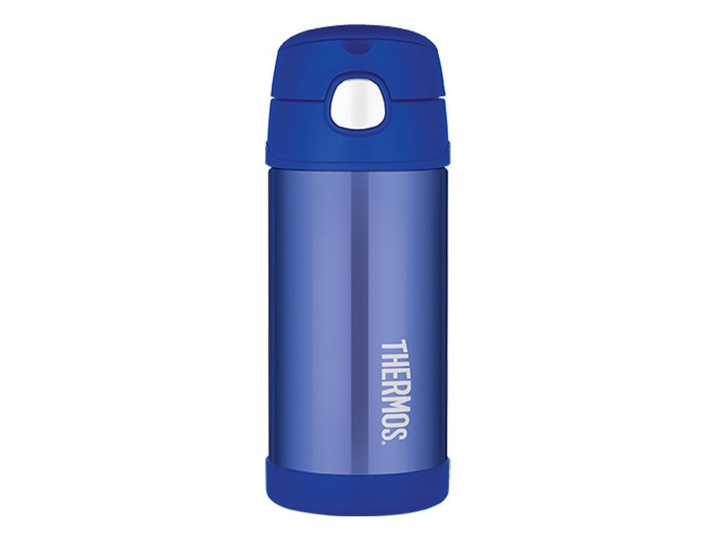 Thermos - FUNtainer dětská nerezová termoláhev 355 ml modrá new