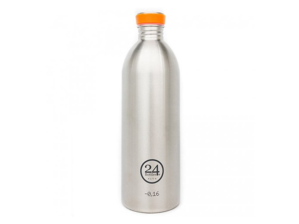 24Bottles - nerezová lahev Urban Bottle 1000 ml Steel