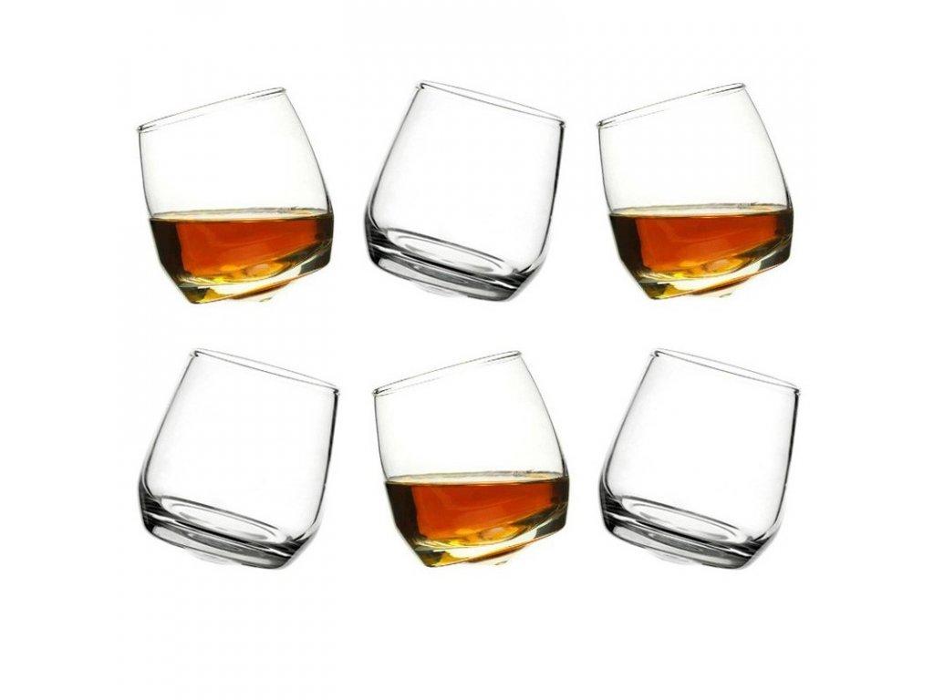 Sagaform - sklenice s oblým dnem Whiskey