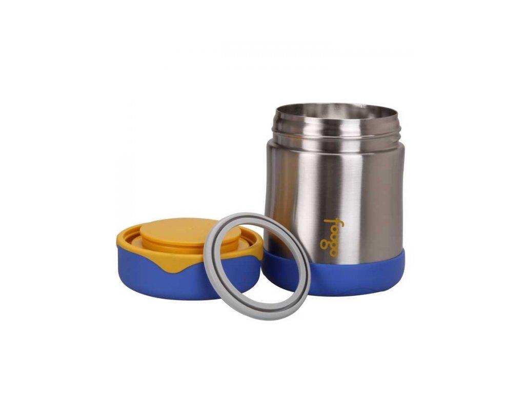 Thermos - kojenecká termoska na jídlo modrá 000ad2a8926