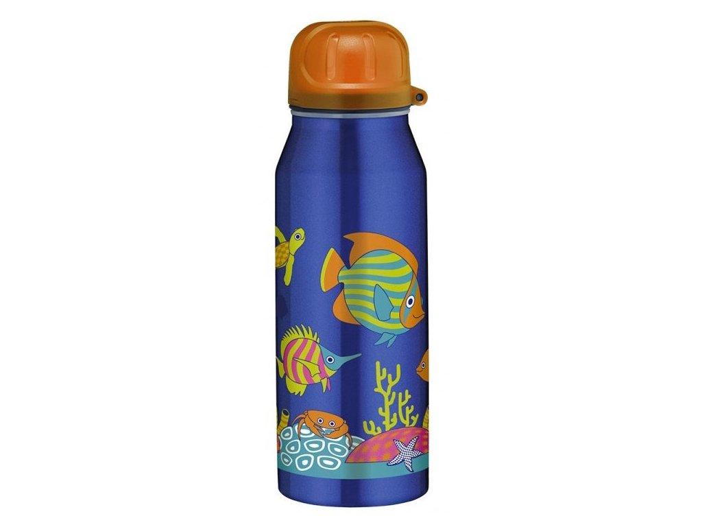 Alfi - inteligentní termoska do školy II Happy Fish 350 ml - Lahve.eu 3b3e36d2b03