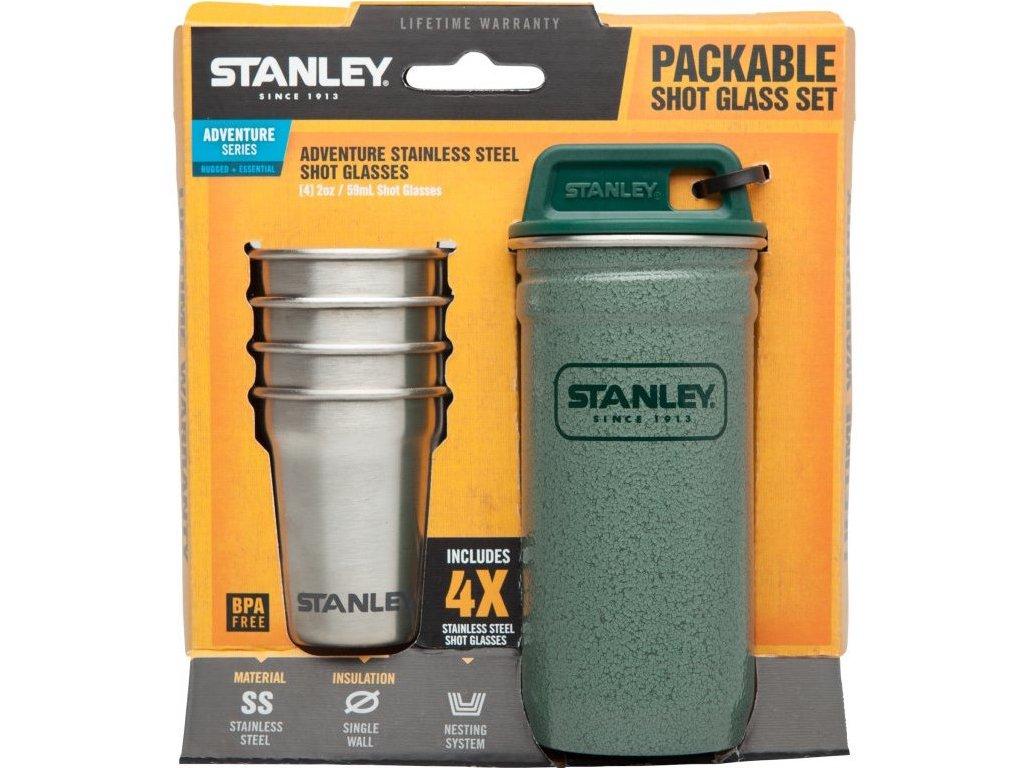 Stanley - set 4 ks panáků v pouzdře