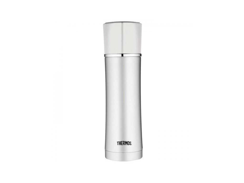 Thermos - nerezová termoska na nápoje 470 ml bílá