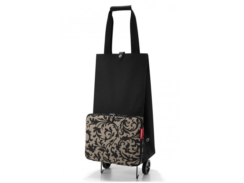 Reisenthel - nákupní taška na kolečkách Foldabletrolley Baroque Taupe