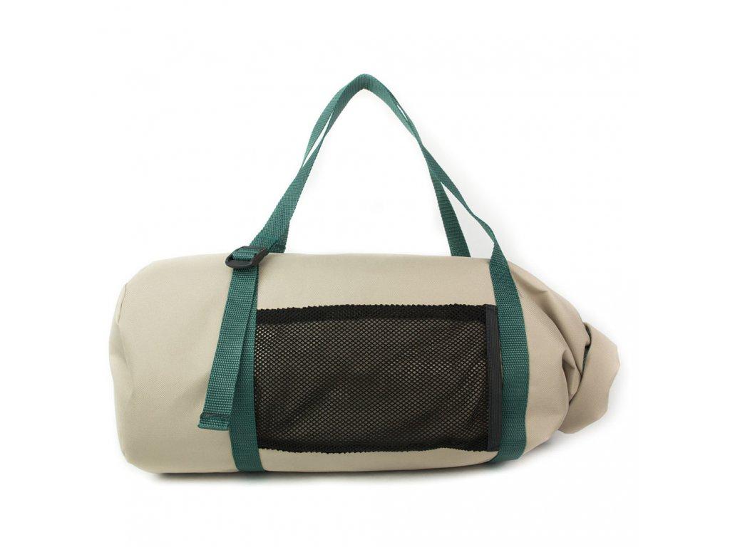 Moderní béžová sportovní taška/batoh Sportiva Khaki Green od 24Bottles 1