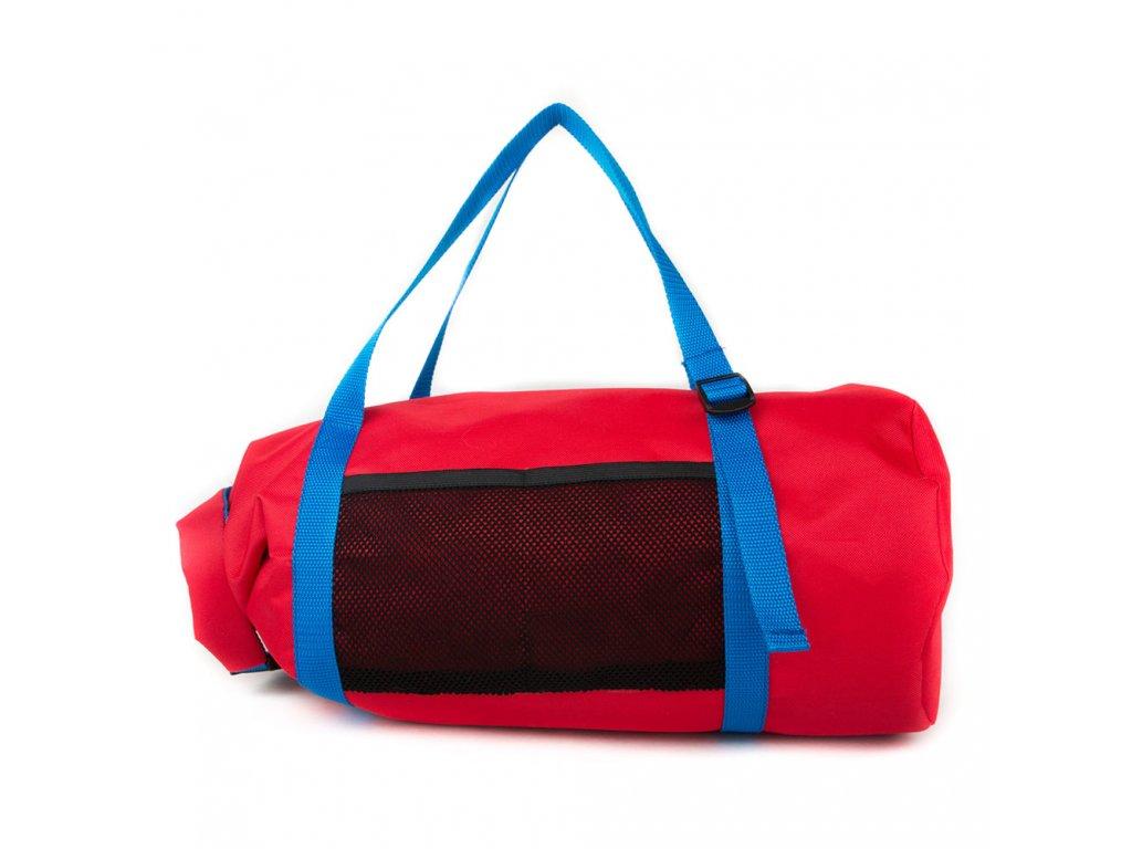 Designová červená sportovní taška/batoh Sportiva Red Blue od italské značky 24Bottles 1