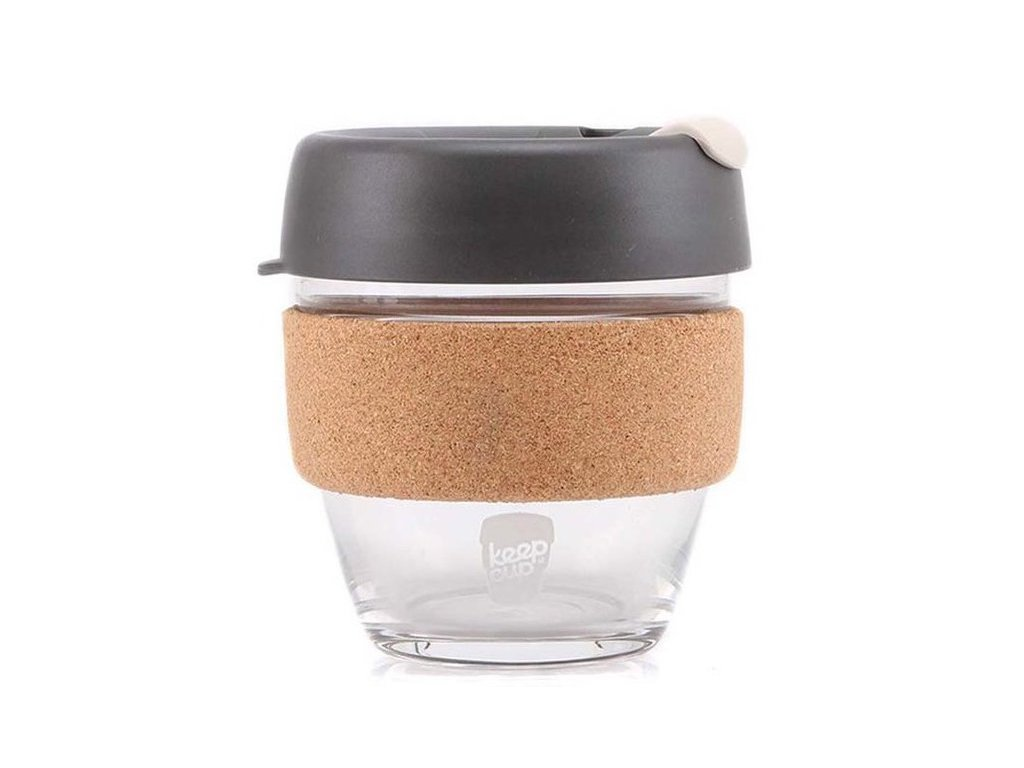 KeepCup - skleněný hrnek Brew Press Small