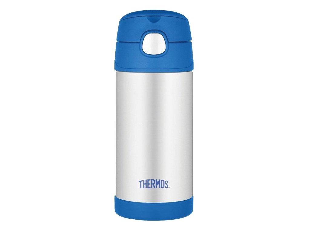 Thermos - FUNtainer new dětská nerezová termoláhev 355 ml modrá