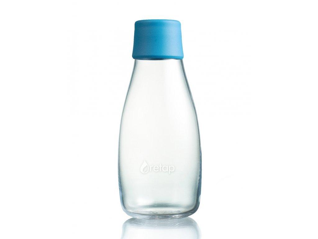 Retap skleněná láhev 0,3l azurová
