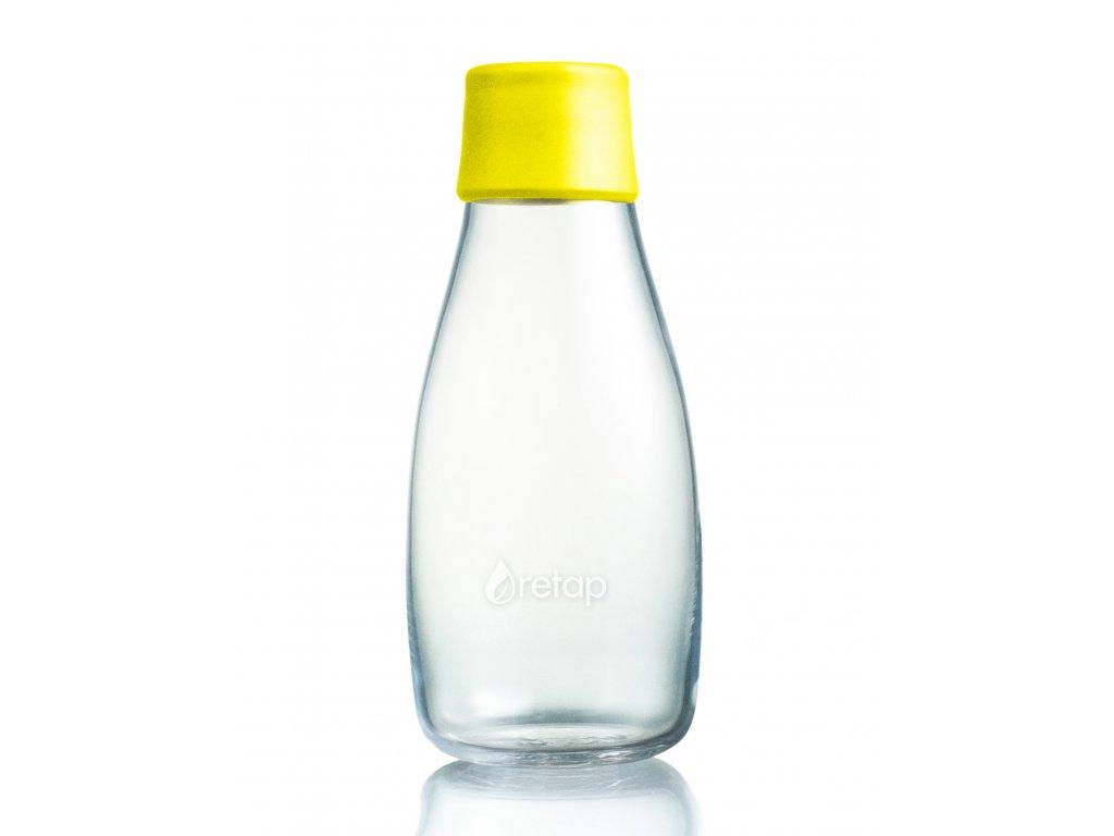 Retap skleněná láhev 0,3l žlutá