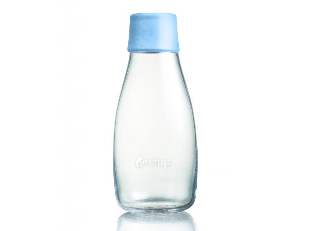 Retap skleněná láhev 0,3l světle modrá