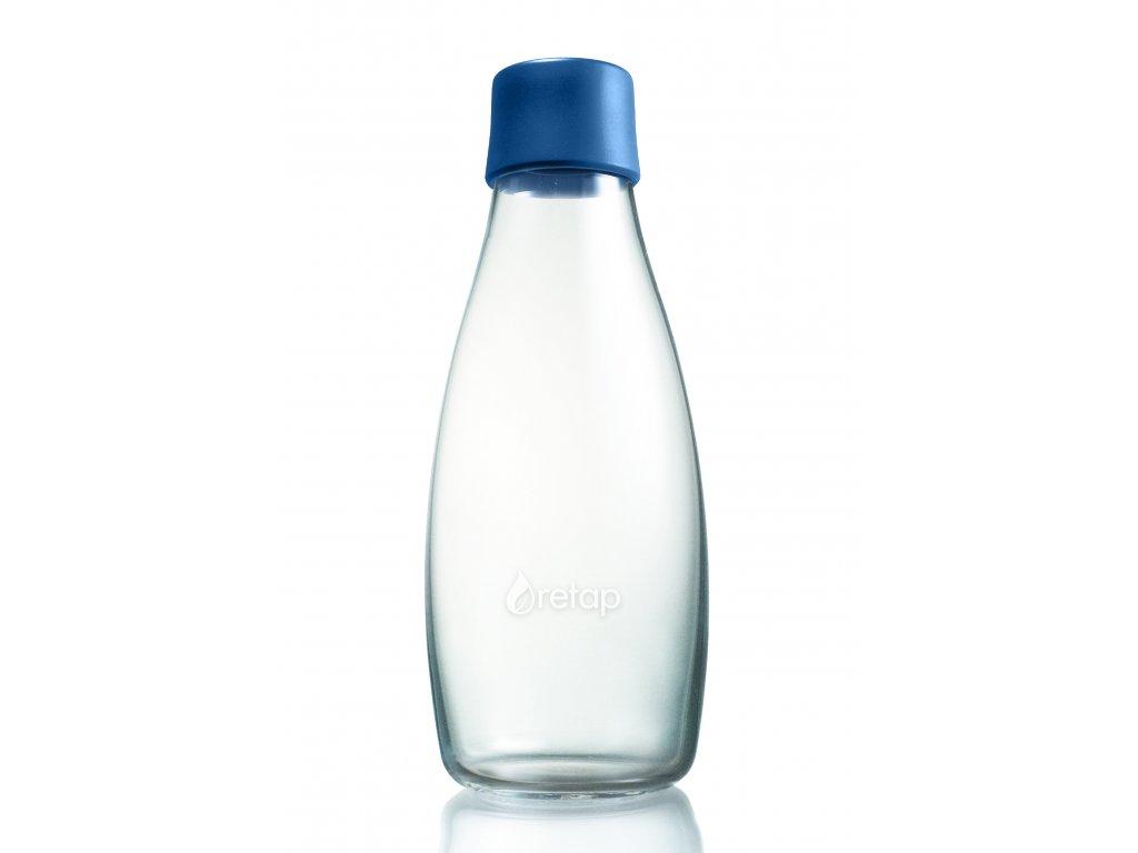 Retap skleněná láhev 0,5l tmavě modrá