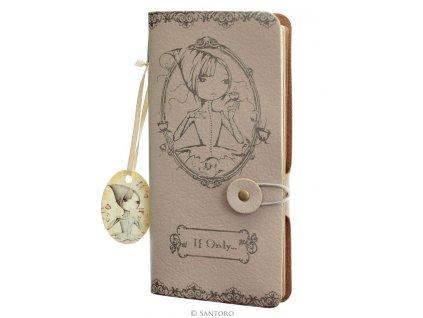 SANTORO  zápisník Mirabelle IF ONLY