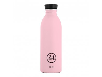 24Bottles - nerezová lahev Urban Bottle 500 ml Candy Pink