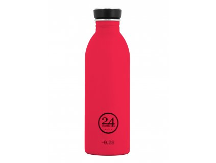 24Bottles - nerezová lahev Urban Bottle 500 ml Hot Red