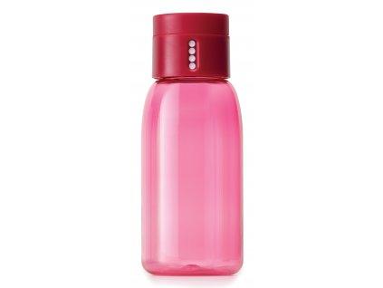 Joseph Joseph lahev s počítadlem DOT růžová 0,4l