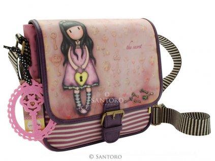 Santoro - kabelka Coated Saddle Bag THE SECRET