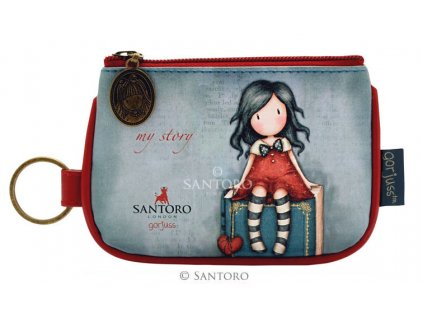 SANTORO - malá peněženka MY STORY