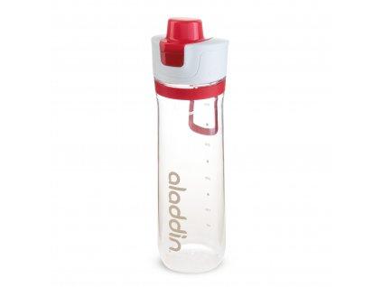 Aladdin sportovní lahev na vodu s počítadlem 800 ml červená 1