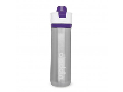 Aladdin sportovní vakuová láhev na vodu 600ml fialová 1