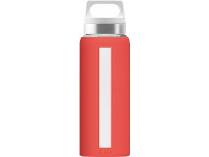 SIGG skleněná lahev DREAM Scarlet 0,65l