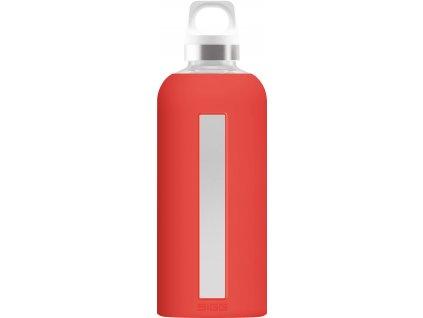 SIGG skleněná lahev STAR Scarlet 0,5l