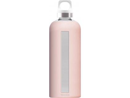 SIGG skleněná lahev STAR Blush 0,85l