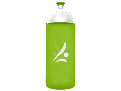 FreeWater plastová lahev 0,7l Logo zelená
