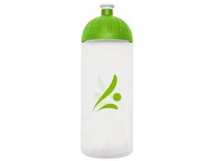 FreeWater plastová lahev 0,7l Logo transparentní