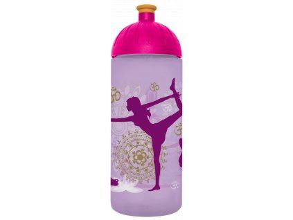 FreeWater plastová lahev 0,7l Yoga fialová