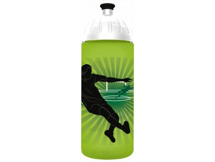 lahev na pití s motivem fotbalisty