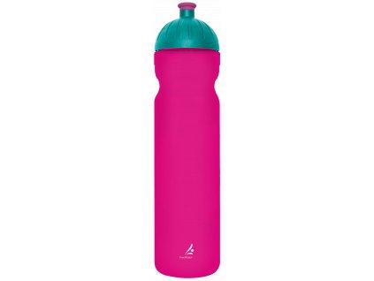 FreeWater plastová lahev 1,0l Logo malé malinová