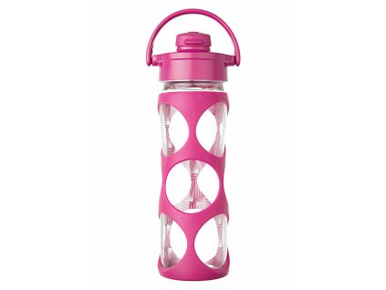 Lifefactory láhev EVERYDAY s flip uzávěrem 475 ml Hot Pink Ion