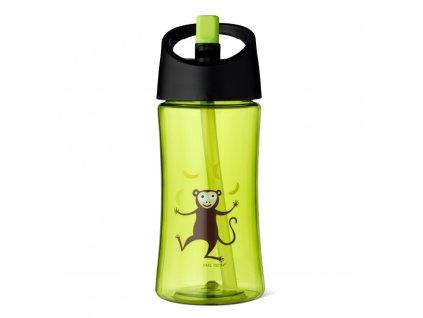 Carl Oscar dětská lahev 350 ml limetková opička