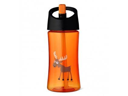 Carl Oscar dětská lahev 350 ml oranžová los