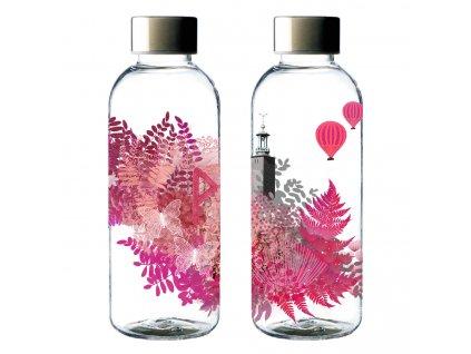 Carl Oscar lahev na pití WisdomFlask růžová 650 ml