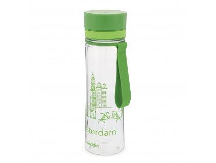 Plastová láhev na vodu Aladdin s motivem Amsterdamu 1